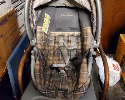 Eddie Bauer Rear Facing Car Seat with matching stroller