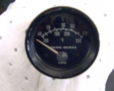 Volvo Penta Tmd Tamd Aqd Aqad 30 40 Temp Gauge No Longer Made 837759
