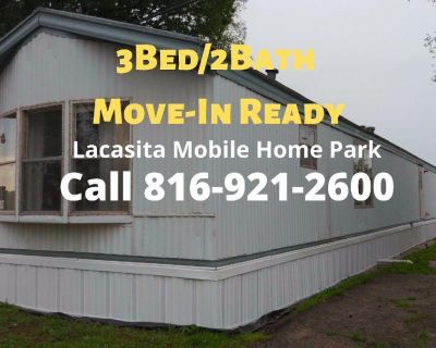 Mobile Home for Sale/Rent with 3Bed/2Bath