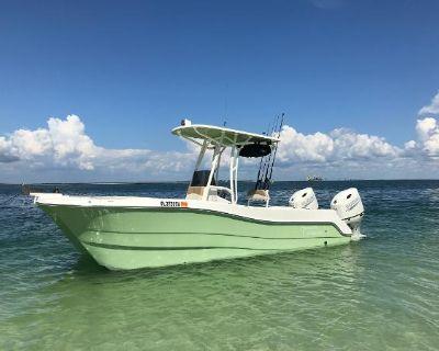 2020 Custom 23 Center console Catamaran