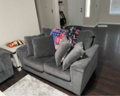 ashely furniture love sheet and sofa