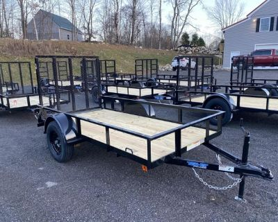 *IN STOCK* New 5' X 10' Utility Trailer -Best Deal Anywhere!