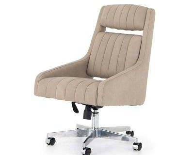 Buy Four Hands Vonn Desk Chair Umber Natural | Office Chairs | Graysonliving.com