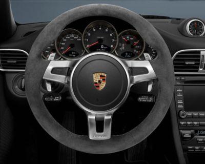 997/991 Alcantara Sport Design Steering wheel in PDK