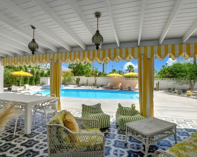 Marilyn Monroe's Estate 4bed/4ba Pool and Spa. Newly Remodeled. Next to downtown - Vista Las Palmas