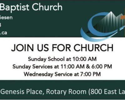 Airdrie Baptist Church Pas...