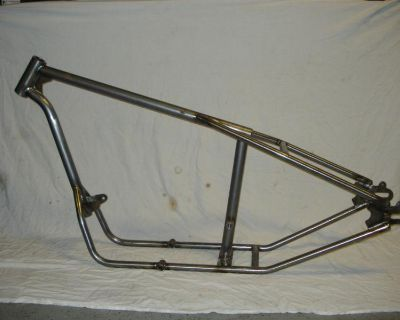 138 Cycle Fabrication Triumph Frame