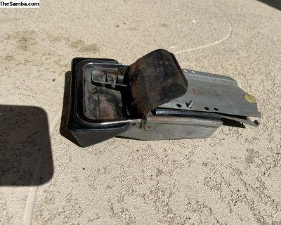Ghia ash tray w/bracket