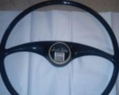 1941 Lincoln Zephyr Red Steering Wheel