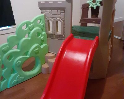 Little Tikes Rock Climber and Slide Playset