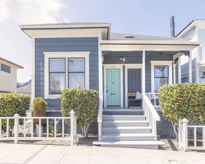 3814 Surf's Up! Walk to Park, Downtown & Beach - New Nightly Vacation Rental! - Pacific Grove