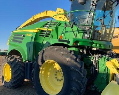 John Deere 8800 Forage Harvester Nice