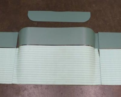 Bench Seat Tire Cover & Side Panels