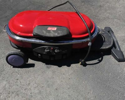Propane camping grill
