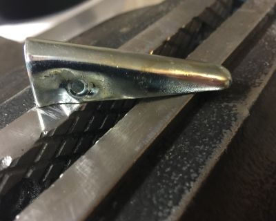 Right Side SS Pinch Weld Seam End Cap