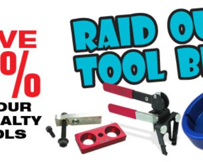 Geno's Garage August Special - Save 10% on Tools