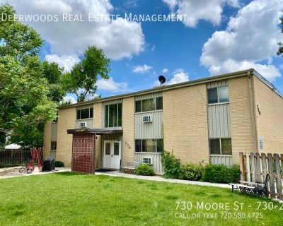 Outdoor Patio, Air Conditioning, Updated Fixtures, Grassy Common Areas