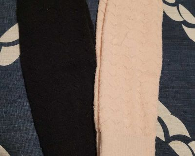 Two pairs of leg warmers- one size