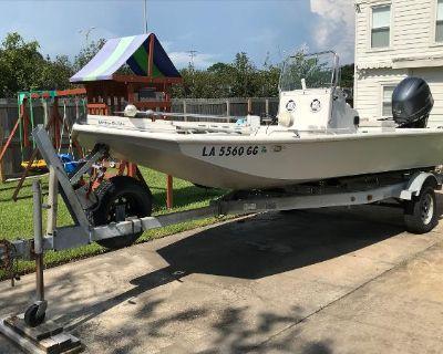 2017 Custom Aluminum Bay Boat