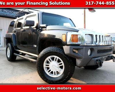 Used 2007 HUMMER H3 W/ RED INTERIOR