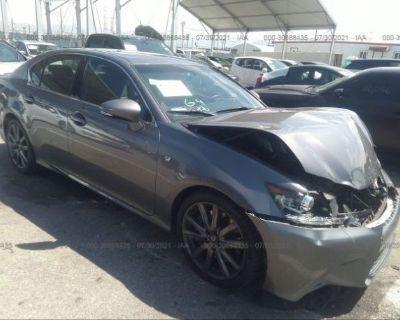 Salvage Gray 2015 Lexus Gs 350