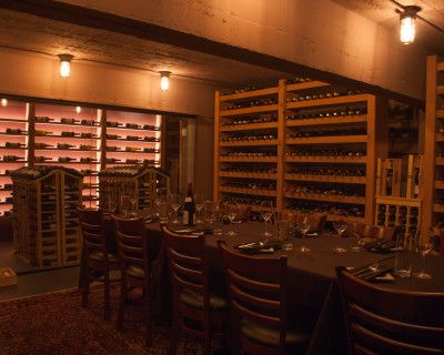 FiDi Private Luncheon In Cellar Room with Projector