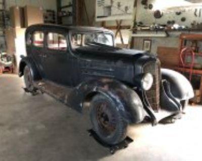 1933 Oldsmobile Barn Find
