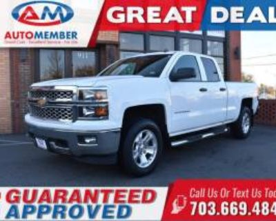 2014 Chevrolet Silverado 1500 LT with 2LT Double Cab Standard Box 4WD