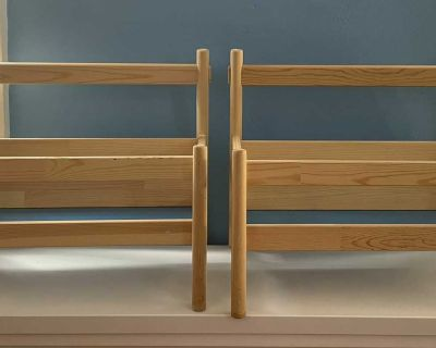 IKEA Wooden Bookcases