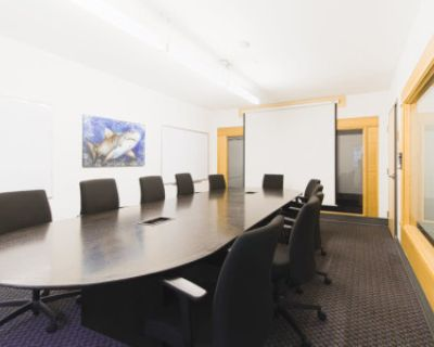 Large 12 Person Meeting Room w/ Projector, Vancouver