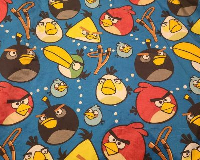 Angry birds bedding set double
