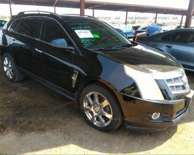 Salvage Black 2010 Cadillac Srx