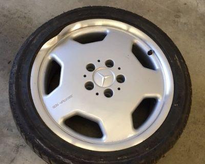 Damaged C43 AMG wheel