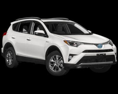 Pre-Owned 2018 Toyota RAV4 Hybrid XLE AWD 4D Sport Utility