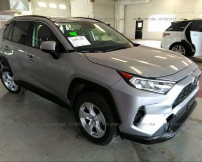 Salvage Silver 2019 Toyota Rav4