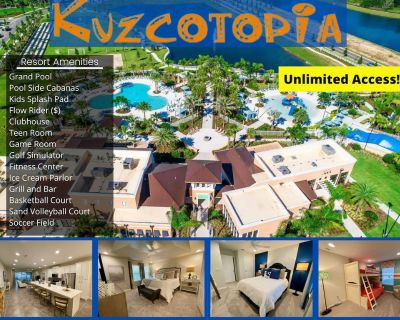 **New! 3/3.5 Townhome With Splash Pool & Resort Amenities - Close To Theme Parks - Four Corners