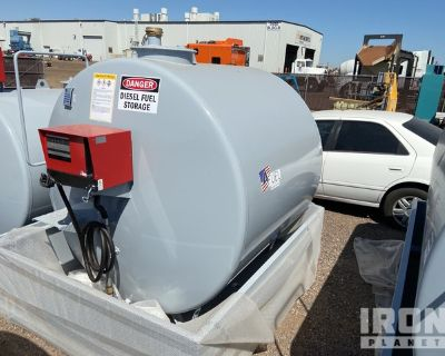 2020 4-Fuel 4F 1170 1170 gal Skid-Mounted Electric Fuel Tank - Unused