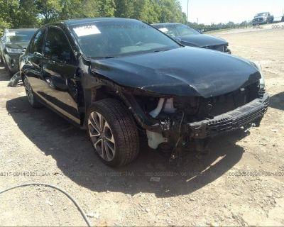 Salvage Black 2013 Honda Accord Sdn