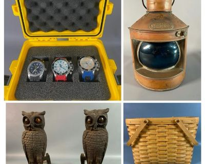 Coastal Downsizing August/September Consignment Online Auction