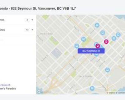 822 Seymour Street #403, Vancouver, BC V6B 1L7 1 Bedroom Condo