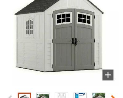 7x7 shed brand new in box