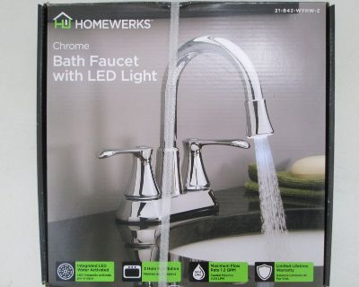 New Restroom Faucet That Can Light-Up