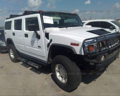 Salvage White 2005 Hummer H2