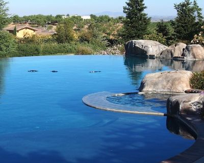 Private Guest House, Sleeps 6, Infinity Pool, Jacuzzi, Pet-friendly, Wineries - Paso Robles