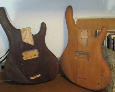 $75 98 Washburn 4 string Bass Body