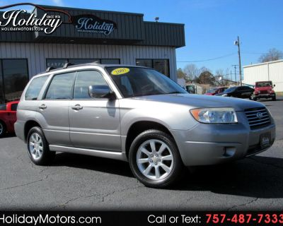 Used 2007 Subaru Forester AWD 4dr H4 AT X w/Premium Pkg