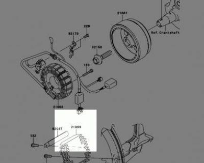 2010 Kawasaki Klx250s Oem Generator: Voltage Regulator