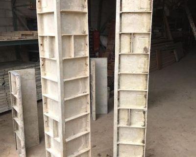 Symon's Silver Aluminum Conrete Forms