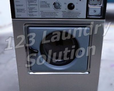 Heavy Duty Wascomat Front Load Washer Double Load W105 Stainless Steel Used