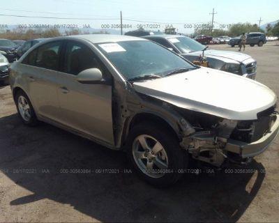 Salvage Beige 2013 Chevrolet Cruze